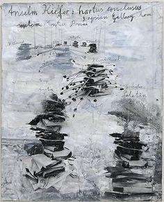 Hortus Conclusus (2009)  gouache on photopaper