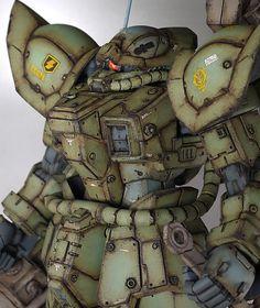 "Custom Build: RE/100 Efreet ""Ground Type Custom"" - Gundam Kits Collection News and Reviews"
