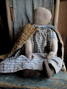 Great doll from Pam Haber shown at The 1800 House.com