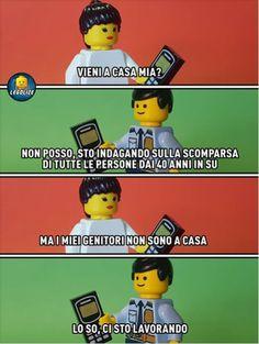 Lego Memes, Legoland, Funny Images, Geek Stuff, Comics, Bella, Harry Potter, Snoopy, Strong