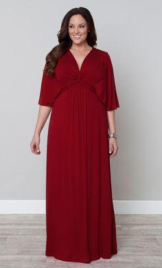 Celebrate this Memorial Day weekend with maximum style and minimal effort, thanks to our plus size Charlize Maxi Dress.  www.kiyonna.com  #KiyonnaPlusYou  #Plussize  #MadeintheUSA  #Kiyonna  #OOTD