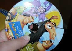 Disney Disc Replacement -- send in broken or scratched Disney DVDs for a replacement at only $6.95. Considering Disney movies are so expensive this is awesome!!! You can do one of each title per year. (how did we not know about this Disney program?!)