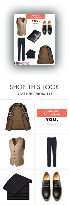 """#Newchic"" by kristina779 ❤ liked on Polyvore featuring Stella & Dot, men's fashion, menswear, polyvorefashion and polylove"