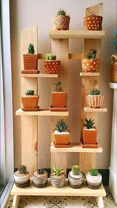DIY Plant Stand Ideas for Indoor and Outdoor Decoration Need some ideas to display your plants indoor and outdoor? Here you go: We have listed a lot of easily made plant stand ideas to put some g