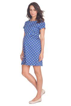 bc92d3a4e Seraphine Martina Short Sleeve Polka Dot Dress
