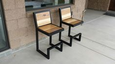 Custom outdoor chairs