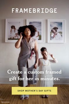 The perfect custom framed gift, just for her. Free shipping, happiness guaranteed. Picture Frames Online, Beautiful Gifts, Online Art, Custom Framing, Gifts For Mom, Happiness, Free Shipping, Day, Prints