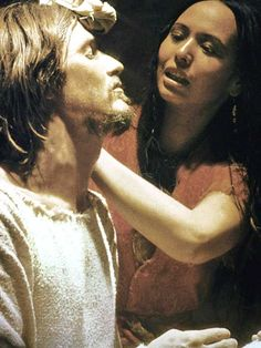 Yvonne Elliman as Mary Magdalene (with Ted Neeley as Jesus) in Jesus Christ Superstar.