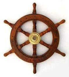 "12"" Ship Wheel Nautical Boat Decor Fishing  RedSkyTrader , http://www.amazon.com/dp/B001038TGI/ref=cm_sw_r_pi_dp_AUIEpb05KH4G1"