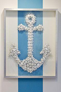 star fish anchor wall art