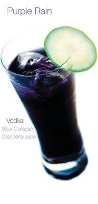 1 part Vodka  1 part Blue Curacao  2 parts Grenadine  2 parts Pineapple Juice  dash of Lime Juice    or    1 part Vodka  1 part Blue Curacao  1 part Cranberry juice