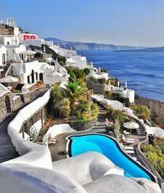Santorini - Kikladhes - Greece Beautiful Places In The World, Places Around The World, Wonderful Places, Life Is Beautiful, Around The Worlds, Oia Santorini Greece, Santorini Island, Mykonos, Places To Travel
