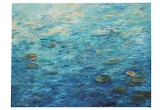 Lilies on the Water by Diane Rieger on OneKingsLane.com