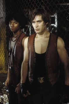 Brian Tyler (Snow) and James Remar (Ajax) in The Warriors Movies And Series, Cult Movies, The Warriors Baseball Furies, Normal Movie, James Remar, Thats 70 Show, Warrior Movie, Arte Hip Hop, Movie Sites
