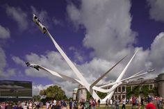 Press kit - Press release - BMW Centenary Sculpture Goodwood Festival of Speed 2016 - Gerry Judah