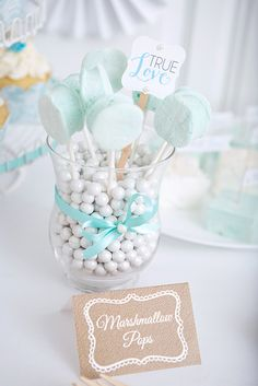 Lace and Pearls Bridal Shower   CatchMyParty.com