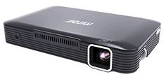 The HD Projector MP150W is a LED mini projector designed to be used with cellular Gadgets to offer an HD 720p Resolution for high-quality projection for streaming, leisure or presentation functions, with Wi-fi connectivity for iOS and Android Gadgets.