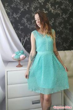 . Платье Тиффани крючком - Вязание - Страна Мам