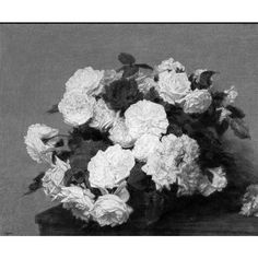 Fleurs Mortes ❤ liked on Polyvore featuring home, home decor, pictures, flowers, black and white, b&w, black & white, black and white home decor and black white home decor
