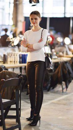 Kristina Bazan - love this look