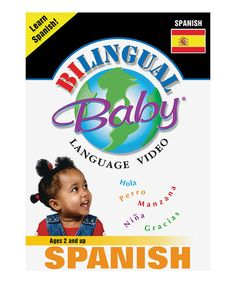 Loving this Spanish Bilingual Baby DVD on #zulily! #zulilyfinds