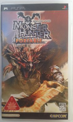 #‎PSP‬ Japanese : Monster Hunter Portable ULJM 05066 http://www.japanstuff.biz/ CLICK THE FOLLOWING LINK TO BUY IT ( IF STILL AVAILABLE ) http://www.delcampe.net/page/item/id,0362022890,language,E.html