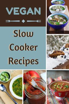Excited to check out these 12 vegan slow cooker recipes
