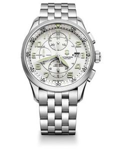 If you are looking for a functional watch with a self-winding movement, the Victorinox Swiss Army Airboss Mechanical Chronograph is a great choice. Keep it charged with one of our Watch Winders. - Sta