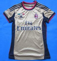 AC Milán Mujer 2013 2014 Third  080  - €16.87   Camisetas de d01a4c0ee2653