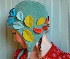 handmade girls winter hat