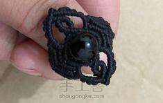 Macrame Rings, Macrame Jewelry, Crochet Necklace, Jewels, Patterns, Model, Toe, Craft, Types Of