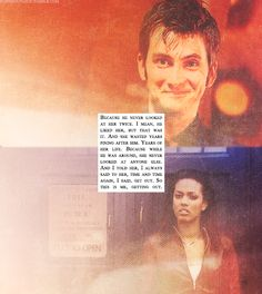 "burningupasun:  Favorite Quotes by Episode - S03E13(b) - ""The Last of the Time Lords"""