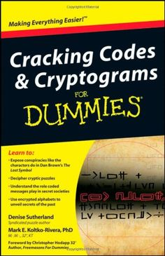46 best high functioning sociopath images on pinterest my books cracking codes and cryptograms for dummies by denise suth https fandeluxe Images