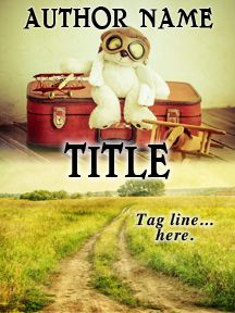 Kid's Suitcase & Toys - A Nostalgic Novel | Customizable Book Cover by RLSather | SelfPubBookCovers: One-of-a-kind premade book covers where Authors can instantly customize and download their covers, and where Artists can post a cover and name their own price.