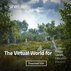 Sinespace: The Virtual World For Everyone Artist Games, Private Server, Article Design, Virtual World, Places To Visit, Cgi