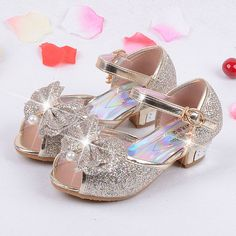 best price 2017 summer brand new baby sandals fantasy gold high heeled bow princess shoes summer shoes #hoof #shoes