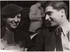 Gerda Taro et Robert Capa
