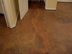 this link is great. how to make already painted concrete floors look like acid stained floors