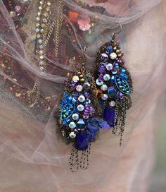 Enigma earrings bold lightweight romantic bohemian earrings