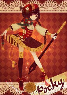 A very cute Pocky girl! <3