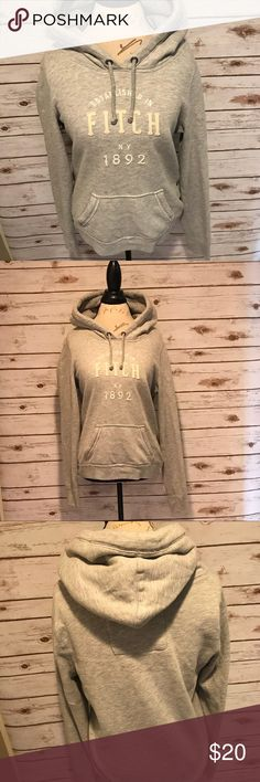 Abercrombie & Fitch Women's Sweatshirt Abercrombie & Fitch women's pullover hoodie. Good condition. No rips or stains. Size L Abercrombie & Fitch Tops Sweatshirts & Hoodies