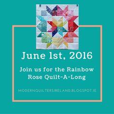 June 2016: Modern Quilters Ireland: Quilt-A-Long