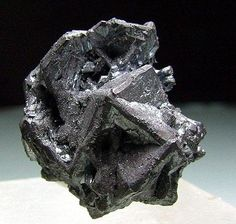 Chalcocite - Levant Mine, Pendeen, Cornwall, United Kingdom