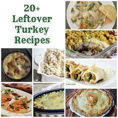 In the Kitchen with Jenny: 20+ Leftover Turkey Recipes @inkitchenwjenny