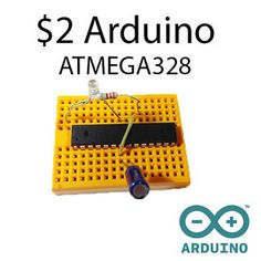In this instructable you will learn how to use the Arduino ATMEGA328 microcontroller chip as a stand-alone microcontroller. They cost only 2 bucks, can do the same...