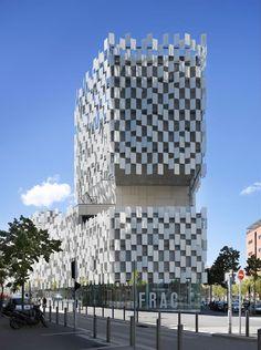 FRAC, Marseille, France by Kengo Kuma and associates: brilliant!