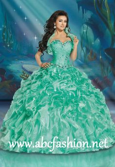 Disney Royal Ball Quinceanera Dresses Ariel Style 41084 Colors: Mint, Tiffany, Turquoise, Purplish http://www.abcfashion.net/disney-royal-ball-quinceanera-dresses-ariel-41084.html  Call us at 972-264-9100