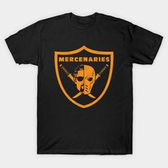 Mirakuru Mercenaries T-Shirt - Deathstroke T-Shirt is  14 today at  TeePublic! 533dd6e754559