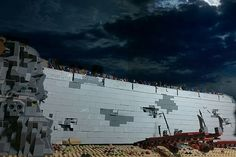 Lego Lord of the Rings Helm's Deep project