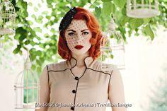 Trevillion Images - vintage-woman-by-birdcages